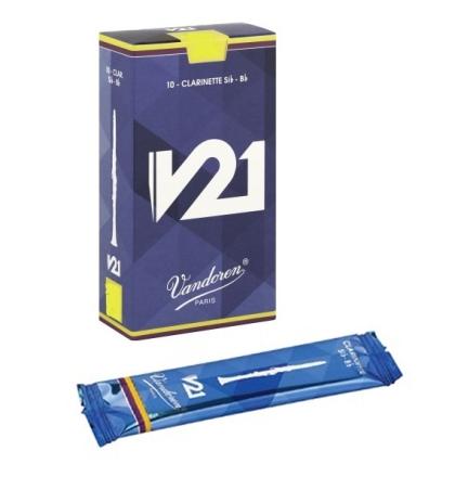 CAJA DE CA  AS VANDOREN CLARINETE V21 N   2 5 10 UDS  CR8025