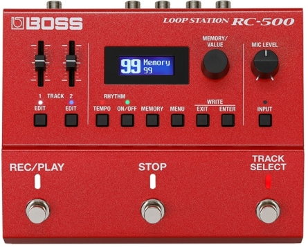 PEDALERA BOSS LOOP STATION RC500