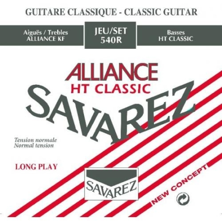 JUEGO CUERDAS SAVAREZ ALLIANCE TENSION NORMAL 540R