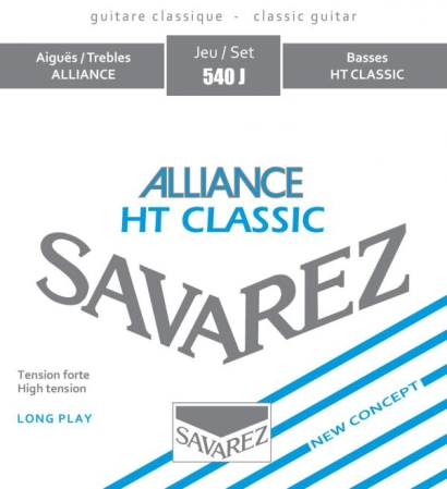 JUEGO CUERDAS SAVAREZ ALLIANCE TENSION ALTA 540J