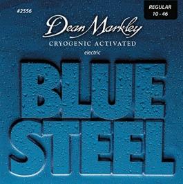 JUEGO CUERDAS DEAN MARKLEY BLUE STEEL 10 46 2556