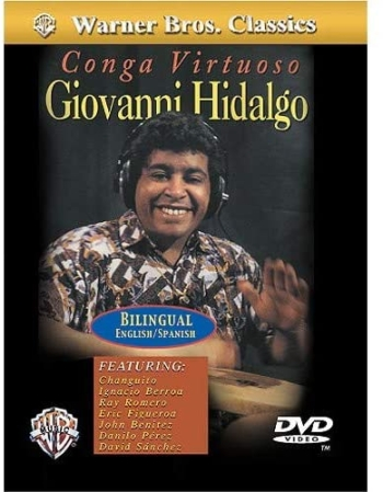 DVD CONGA VIRTUOSA GIOVANNI HIDALGO