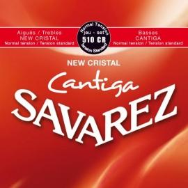 JUEGO CUERDAS SAVAREZ CANTIGA TENSION NORMAL 510CR