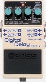 PEDAL BOSS DD7 DIGITAL DELAY