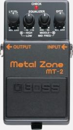 PEDAL BOSS MT2 METAL ZONE