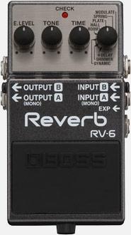 PEDAL BOSS RV6 REVERB