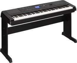 PIANO YAMAHA DGX660B DIGITAL CON ACOMPA  AMIENTOS DGX660B