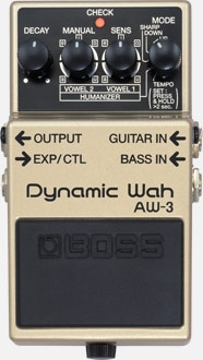PEDAL BOSS AW3 DYNAMIC WAH AND HUMANIZER