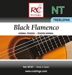 JUEGO CUERDAS ROYAL CLASSICS BLACK BF30T PACK PRIMAS
