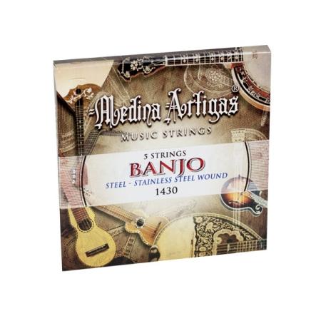 JUEGO CUERDAS MEDINA ARTIGAS BANJO 1430
